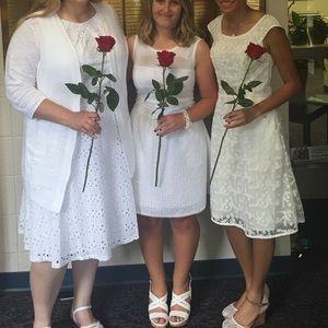 Altar'd State White Dress